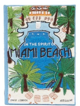 Olympia Le-Tan Miami Beach Book Clutch - Blue Multi
