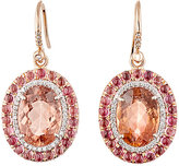 Irene Neuwirth Diamond Collection Women's Mixed-Gemstone Drop Earrings