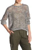 Inhabit Salt & Pepper Crew Neck Sweater