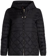 Max Mara Etresi Contrast Quilted Short Jacket