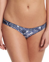 Diane von Furstenberg Ipanema Printed Hipster Swim Bottom, Midnight