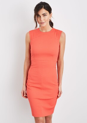 Phase Eight Romano Textured Fitted Dress