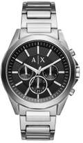 Armani Exchange Drexler Silver Watch