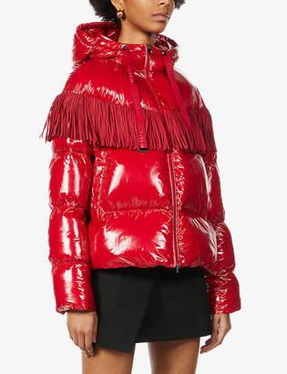 Pinko Donato Caban padded-shell jacket