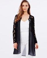 Francoise Chiffon Lace Jacket