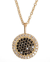 Jamie Wolf Two-Tone-Diamond Pendant 18k Gold Necklace