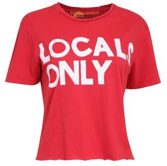 Aviator Nation Locals Only Red T Shirt - S