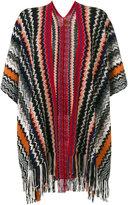 Missoni Mantella knitted poncho - women - Cashmere - One Size