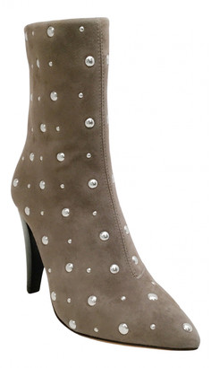 IRO Grey Suede Ankle boots