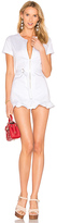 Wildfox Couture Doheny Romper in White. - size M (also in )