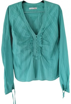 Levi's Turquoise Cotton Top for Women