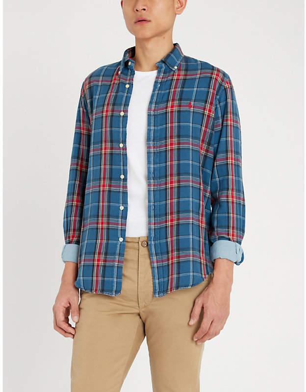b64d2d93a Flannel Shirts For Men- Ralph Lauren - ShopStyle