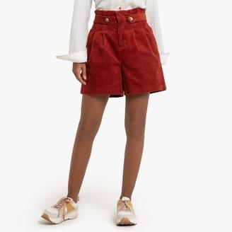 La Redoute Collections Cotton Corduroy Shorts