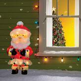 """Candy Cane Lane Whimsical Santa 28"""" Pre-Lit Christmas Garden Decor"""