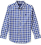 Ralph Lauren Little Boys 5-7 Plaid Long-Sleeve Poplin Shirt