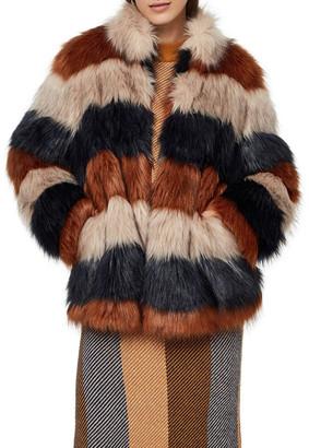Y.A.S Gao Faux Fur Jacket