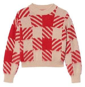 Sandro Women's Ginn Check Sweater