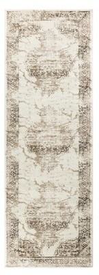 Bungalow Rose Samira Oriental Brown Area Rug Rug Size: Runner 3' x 10'