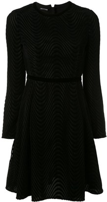 Emporio Armani Textured Short Dres