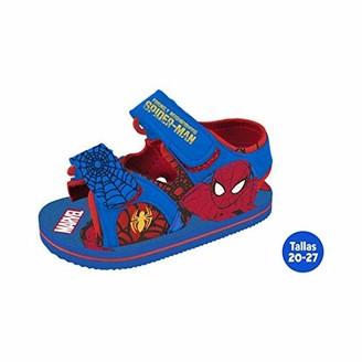 Marvel Unisex Kids Sandalias Verano Infantiles Spiderman Open Toe Sandals