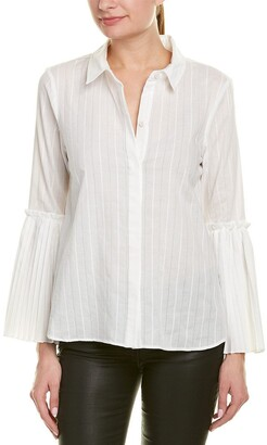 BCBGMAXAZRIA Women's Breanne Cotton Shirt