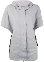 Eleventy shortsleeved hooded jacket - women - Nylon/Polyamide/Spandex/Elastane - XS