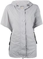 Eleventy shortsleeved hooded jacket - women - Polyamide/Spandex/Elastane/Nylon - XS