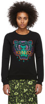 Kenzo Black Limited Edition Holiday Classic Tiger Sweatshirt