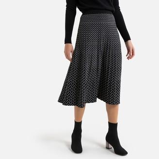 Molly Bracken Printed Mid-Length Full Skirt