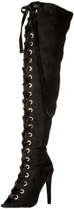 Qupid Women's INTEREST-167XX Heeled Sandal