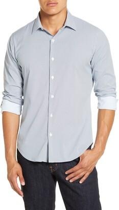 Bonobos Slim Fit Print Stretch Button-Up Shirt