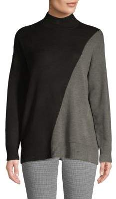 Calvin Klein Colorblock Ribbed Sweater