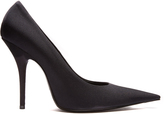 Balenciaga Knife high-heel jersey pumps