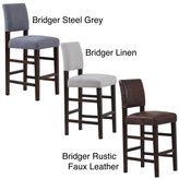 Monsoon Bridger Upholstered Bar Chairs (Set of 2)