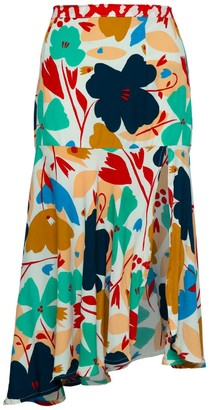 State Of Georgia The Paris Skirt In Big Blume