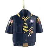Kurt Adler Resin Cub Scout Blue Shirt Ornament