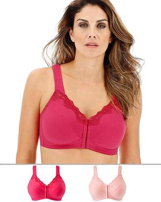 Pretty Secrets 2Pack Sarah Front Fastening Bras