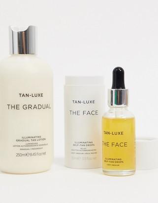 Tan-Luxe Tan Luxe The Face in Light/Medium & The Gradual Set SAVE 21%