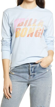 Billabong Feeling Sporty Long Sleeve Graphic Tee