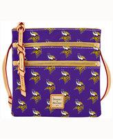 Dooney & Bourke Minnesota Vikings Triple-Zip Crossbody Bag