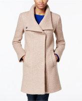 Kenneth Cole Wool-Blend Asymmetrical Walker Coat
