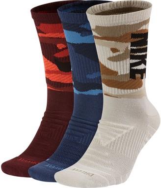 Nike Men's 3-pack Everyday Max Cushioned Training Crew Socks
