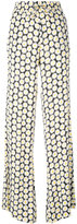 Love Moschino daisy print palazzo pants - women - Viscose - 38