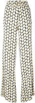 Love Moschino daisy print palazzo pants - women - Viscose - 40