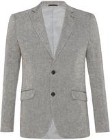 Oxford Max Linen Blend Blazer Black X