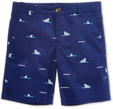 Epic Threads Shark Wave Cotton Shorts, Toddler & Little Boys (2T-7), Only At Macy's