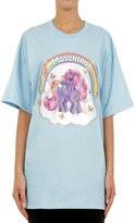 Moschino Little Pony Oversized Jersey T-Shirt
