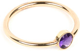 Annina Vogel 9 carat gold and amethyst ring