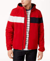 Tommy Hilfiger Men's Erwin Colorblocked Hooded Windbreaker, Created for Macy's