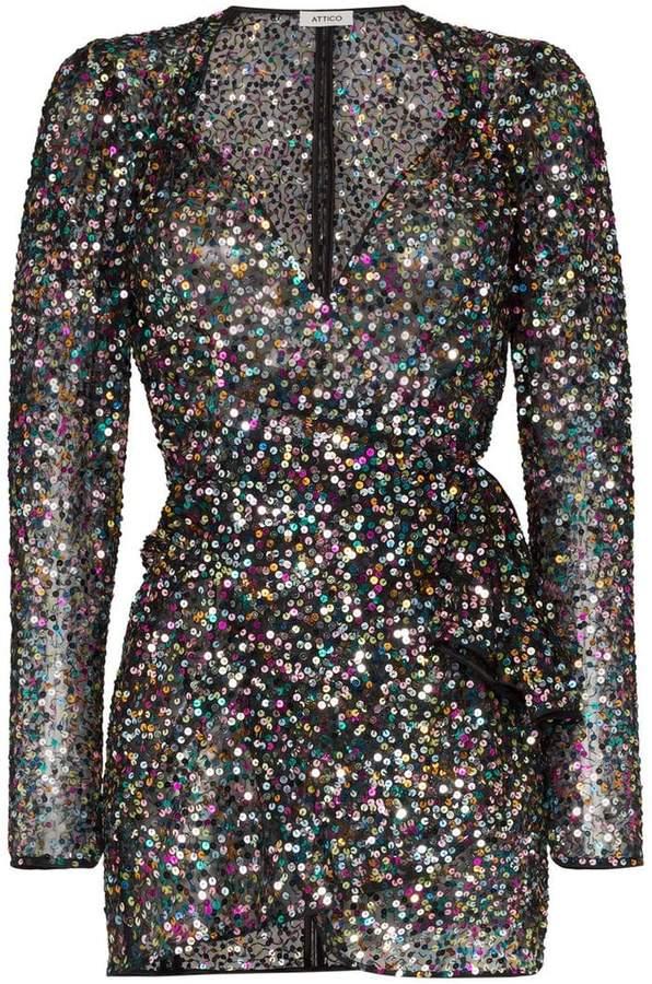 afb04cf4d6b99 Attico Sequin Dress - ShopStyle